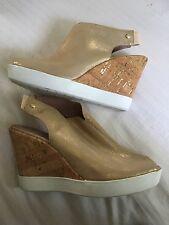 Donald J Pliner gold sandals women's size 11 m