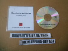 CD Indie Manchester Orchestra - Wolves at Night (1 Song) Promo COLUMBIA