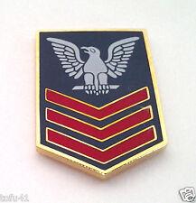 US NAVY PETTY OFFICER 1ST CLASS E6 Military Veteran Rank Pin 14398 HO
