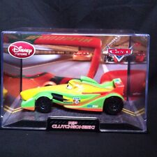 Disney Store Cars 2 Rip Clutchgoneski Racer Diecast With Collector Case