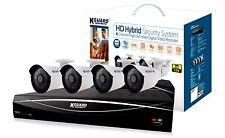 Kguard HD Hybird System 8CH 1TB Onvif IP Support DVR 4 720P Cam HD881-4WA713A