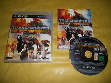 PS3 GAME: TRANSFORMERS-FALL OF CYBERTRON-SONY PLAYSTATION-PS1-PS2-PS3-INGLESE