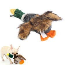 Dog Chew Stuffed Squeaker Sound Toy Plush Duck Toys For Dogs Training Squeaking