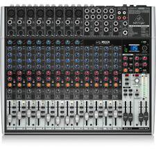 Behringer X2222usb Mixer passivo USB 22 Canali con Multieffetto ed Equalizer