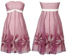 "BNWT "" Coast "" Size 8 Gable Organza Dress (36 EU)4 US Wedding Cocktail Party New"