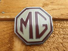 MG Front Grille Badge Genuine Used Part ZR ZS ZT