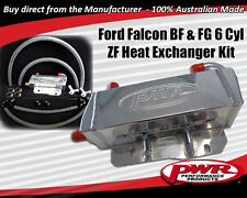 PWR Ford Falcon BF FG 6 Speed ZF Auto Transmission Oil Cooler Kit Heat Exchanger
