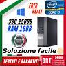 PC COMPUTER FISSO DELL OPTIPLEX 9020 SFF CPU I7 16GB RAM SSD 256GB GRADO A WIN10