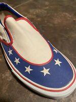 Evel Knievel Formula One Vans Slip-On Sneakers Mens 10 Womens 11.5 Super Rare