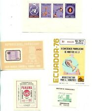South & Central America - Souvenir Sheets & Numbered Issues - Lot Of 14
