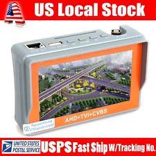W43ATC Portable 1080P AHD+TVI+CVBS Analog CCTV Camera Tester DC12 Power Output