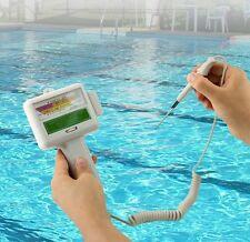 Testeur Niveau PH & Chlore qualité eau SPA, Piscines, Robinet, aquarium PH-mètre
