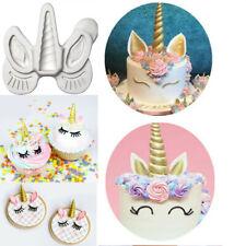 Unicorn Modelling Tool Pastry Bakeware Fondant Cake Chocolate Icing Craft Mould
