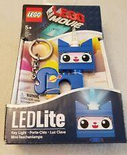 NEW LEGO Movie Unikitty Key Light LEDLite Keychain Blue Space Planet Santoki