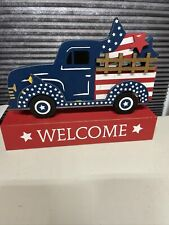 New listing Fourth Of July Decor 9.5 Inches Across😀