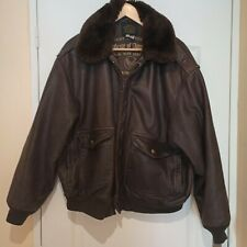 AVIREX A2 VINTAGE MADE IN USA, AVEC COL FOURRURE AMOVIBLE TAILLE XXL
