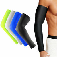 Sports Cover Hand Arm Elbow Protector Gear Basketball Football Long Sleeves M-XL