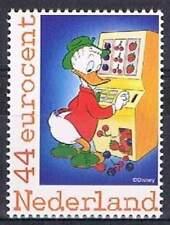 Persoonlijke zegel Duckstad MNH 2562-Ab-07: Guus Geluk op Fruitautomaat