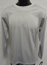 Easton Spirit Long Sleeve Jersey T Shirt Tee Bio-Dri UV Protection S GREY