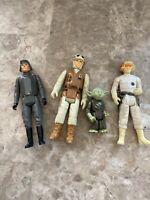 Star Wars Original Yoda 1980 Vintage  Kenner Jedi Master Action Figure Han +2