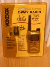 New - Old Stock - Voxbox Two-Way Radio Walkie Talkie / 5 Mile
