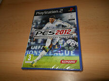 Pro Evolution Soccer PES 2012 PS2 NEW SEALED pal PS2