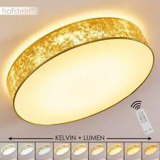Plafonnier LED Lampe à suspension Lustre Lampe de corridor Lampe de séjour dorée