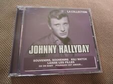 "CD ""JOHNNY HALLYDAY - LA COLLECTION"" 18 titres"