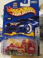 Hot Wheels Rig Wrecker #195 Final run Red