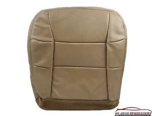 1998 1999 Lincoln Navigator 4X4 Bucket Driver Side Bottom LEATHER Seat Cover TAN