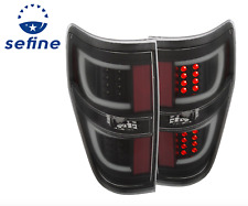 ANZO 311257 L.E.D Tail Lights G2 Black For 2009 - 2014 FORD F-150