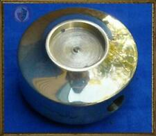 Brass Round pommel with inset