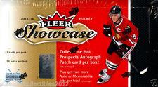2013-14 Upper Deck Fleer Showcase Hockey Hobby Box Mackinnon Tarasenko