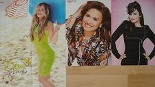 █▬█ Ⓞ ▀█▀    3 POSTER    __    Demi Lovato    __    Collection  //  Sammlung