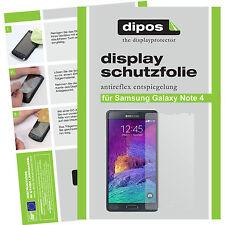 Samsung Galaxy Note 4 Displayschutzfolien - 4x Displayfolie Schutzfolie Folie