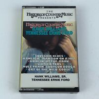 Hank Williams Sr and Tennessee Ernie Ford History of Country Music Cassette