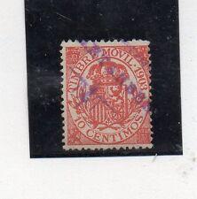 España Valor Fiscal Postal del año 1903 (CS-280)