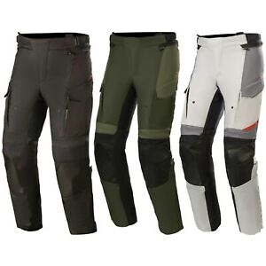 Alpinestars Andes V3 Drystar Men's Biker Trousers Waterproof with Protectors
