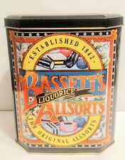 Vintage Bassett's Liquorice The Original Allsorts Candy - Empty Tin Box, England