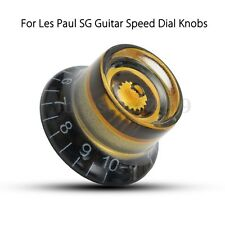 LP Electronic Guitar Speed Dial Knobs Control Knobs Black&Gold For Les Paul SG