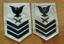 New listing Us Navy Usn Petty Officer First Class Embroidered Rate Patch Lithographer