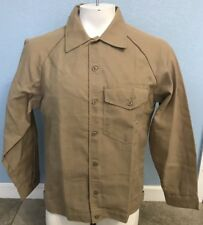NWT Workrite Nomex FR Flame Resistant Khaki Shirt/Jacket Medium (M) Made In USA