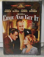 Come and Get It (DVD, 2005) RARE 1936 ROMANCE DRAMA BRAND NEW