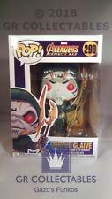Marvel Vengadores Infinito Guerra Corvus Glaive #290 Vinilo Bobble Head Funko POP!
