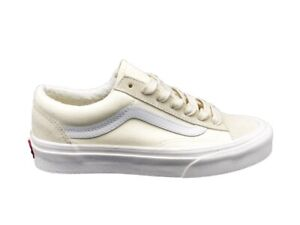 VANS Ua Estilo 36 (Vintage Deporte) Zapatillas Blanco Crema Z3VTB1