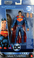 "DC Multiverse ~ 6"" REBIRTH SUPERMAN (SERIES 8) ACTION FIGURE ~ Mattel"