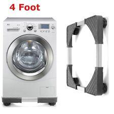 Ajustable Socle Support Machine à Laver Lave-linge ANTI-VIBRATION 4 Pied  FR!