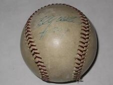 Billy Williams #399 Home Run Game Used Signed Baseball 1974 Chicago Cubs HOF