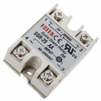 Control de Maquinaria AC Modulo de Rele de estado solido SSR-25AA 80-250V 2 N5H2