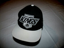 "Los Angeles Kings Mitchell & Ness ""Vintage Hockey"" Style Snapback Hat 20% Wool"